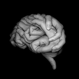 hands brain photo